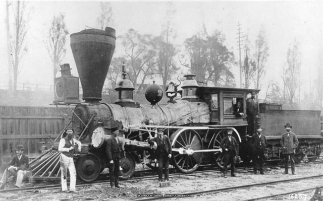 First Steam Powered Train Traveled for the First TIme