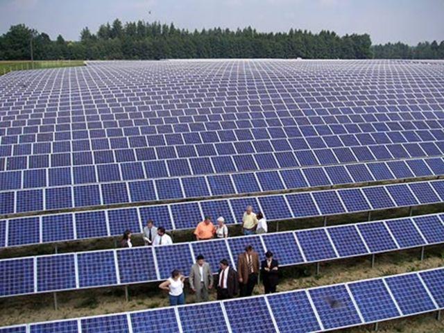 First Solar Panel