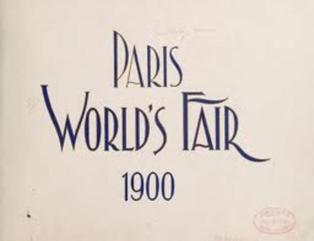 World Fair in Paris brings idea of Progressive Curriculum