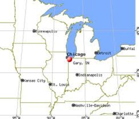 1906 Steel Company brings many students to Gary, Indiana