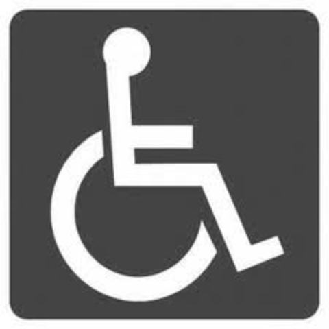 1950's 72% of disabled children NOT enrolled in school