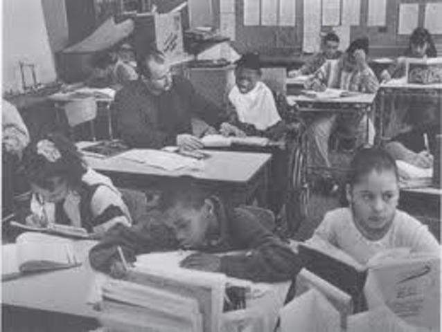 1975 Education for ALL Handicapped Children Act passed