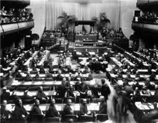 Hitler and the League of Nations