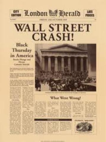 Wall Street crash