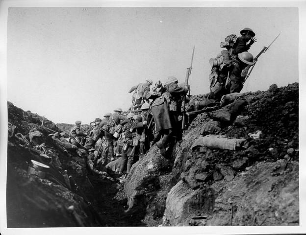 WW1, Krigens forbløb
