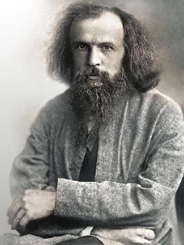 Dmitri Mendeleev created...