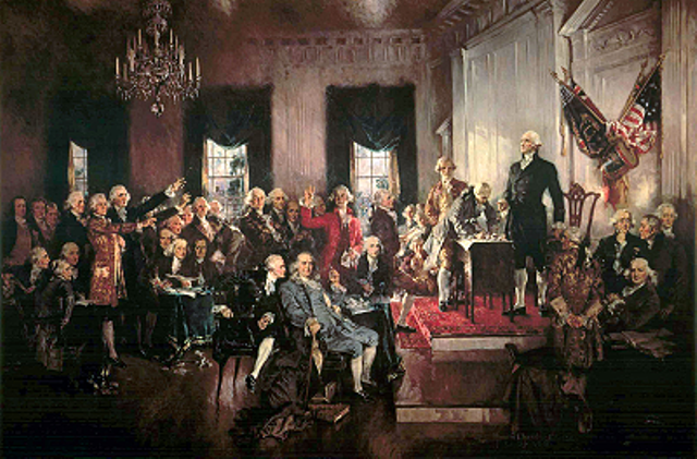 The U.S. Constitution is Ratified