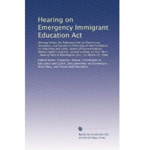 Emergency Immigrant Education Act