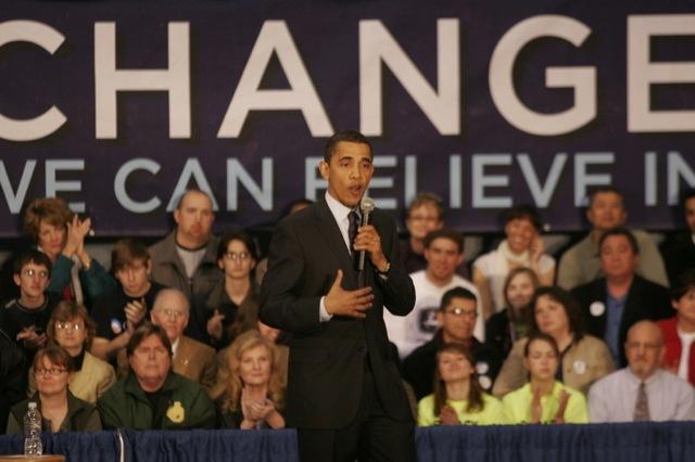 President Obama elected