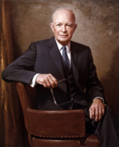 Eisenhower deploys Federal troops to protect black students in Little Rock, Arkansas