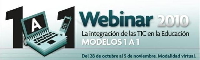 Webinar 2010: Modelo 1:1