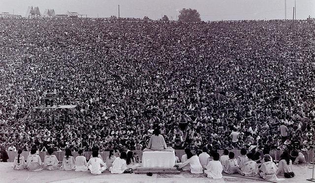 Woodstock Festival begins