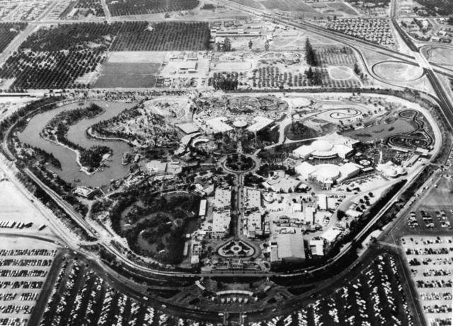 Disneyland opens in California
