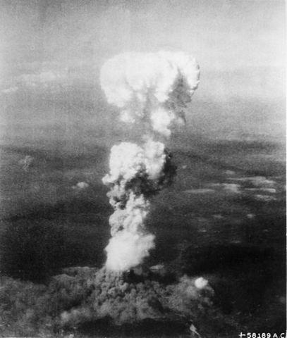 U.S. drop atomic bomb on Hiroshima