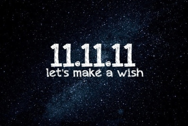 Her wish on 11.111.11. at 11:11pm