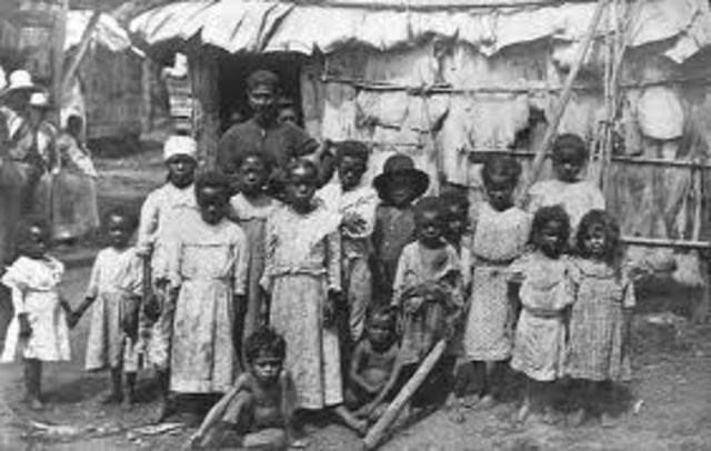 First group of African slaves are shipped to Virginia.