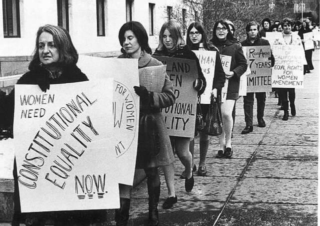 Women take a stand