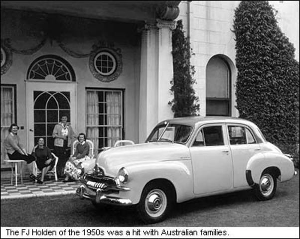 The FJ Holden: An Australian Icon