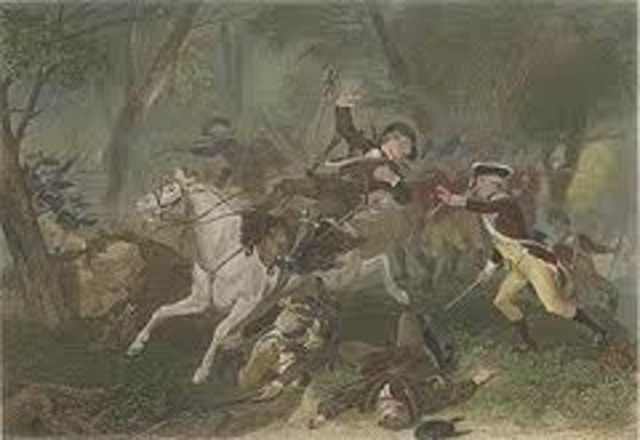 The Battle at King's Mountain