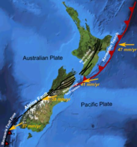 Macquarie Fault zone