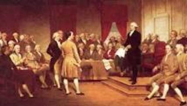 The Constitutional Convention Opens