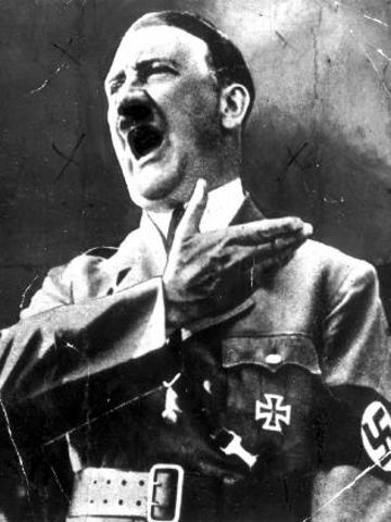 Hitler testifies he would be at the elections