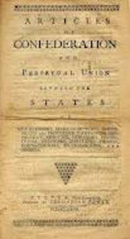 Articles of Confederation is Ratified