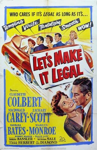 """""""Chéri, divorçons"""" (""""Let's make it legal"""") de Richard Sale"""