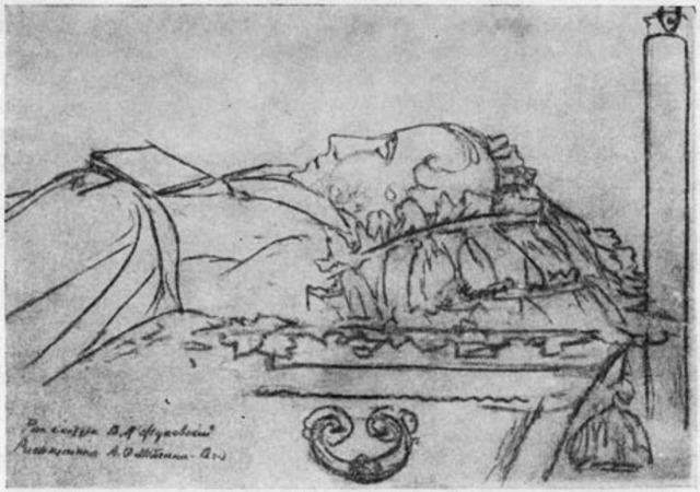 Смерть Пушкина.