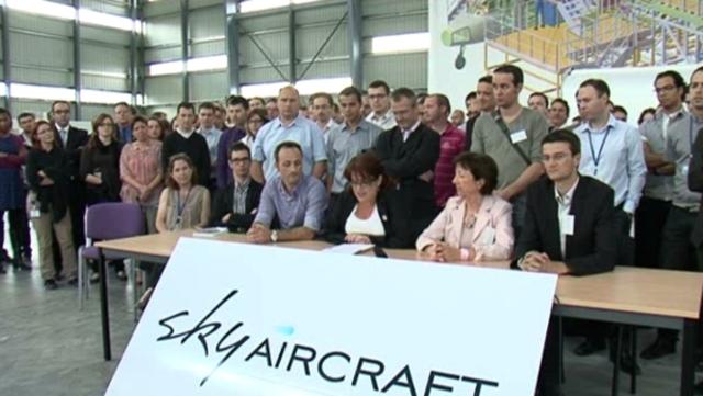 "Programme Skylander: les salariés demandent à l'Etat ""la continuité de ses engagements"""