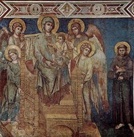 Evolución de la pintura gótica italiana