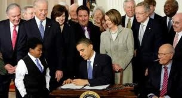 Affordable Care Act signed