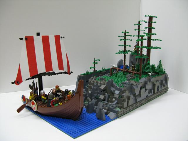 Leif Ericson discovers North America