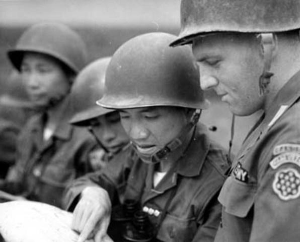US Training South Vietnamese