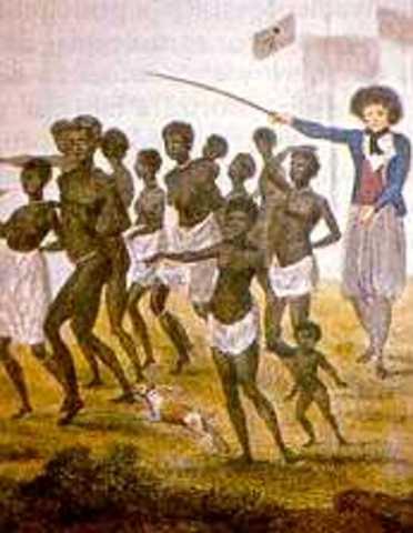 PENETRACIÓN DE ESCLAVOS AFROAMERICANOS (SIGLO XVI)