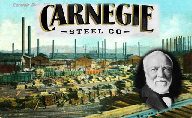 Carnegie Steel Company is organized (VUS.8b)