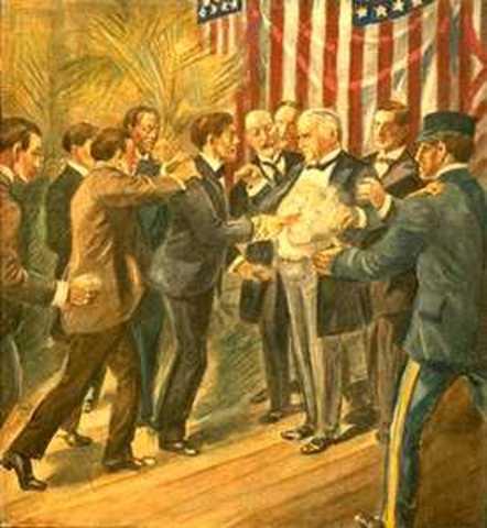 McKinley is SHOT!