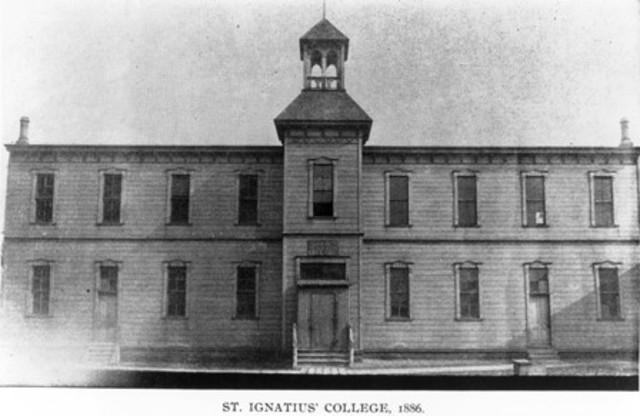 Founding of St. Ignatius College