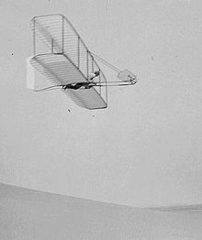 1st Flying Machine