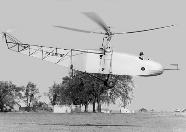 First practical singlerotor helicopters