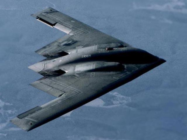 B-2 bomber developed