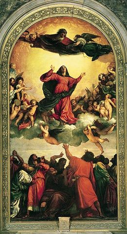 La Asunción de Tiziano