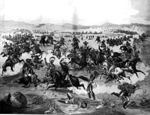 Black hills of gold rush incites sioux war