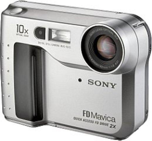 Saving To Storage - Sony Digital Mavica FD5