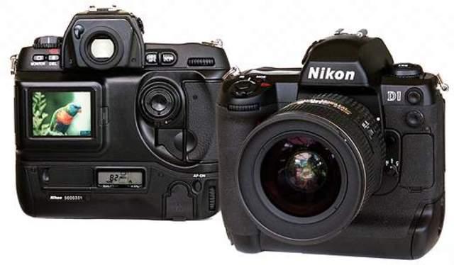 First Digital SLR - Nikon D1