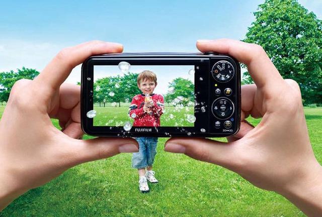 3D Cameras - Fujifilm FinePix Real 3D W3