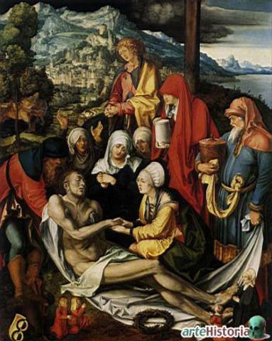 Llanto sobre Cristo muerto de Durero