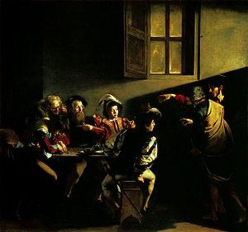 Vocación de San Mateo de Caravaggio