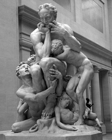 la escultura en la segunda mitad del Siglo XIX