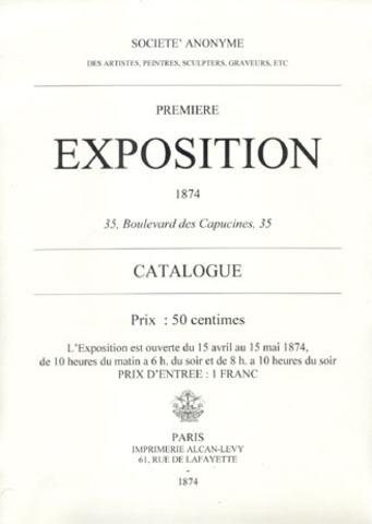 La primera exposición impresionista